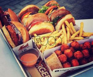 food and hamburger image