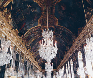 architecture, art, and versailles image