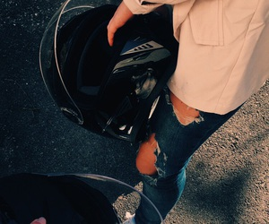 black, legs, and scooter image
