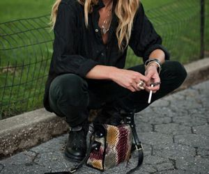 Erin Wasson, model, and street style image