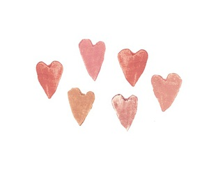 hearts, pink, and transparent image