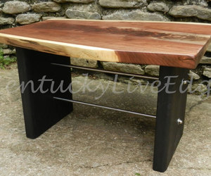 black table, etsy, and modern furniture image