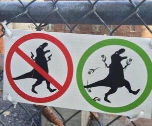 dinosaur, funny, and grunge image