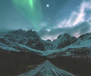 nature, road, and sky image