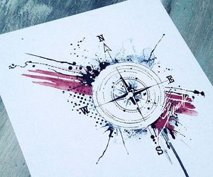 compass, direction, and draw image