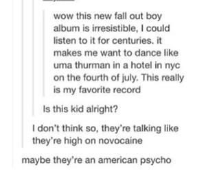 albums, fall out boy, and fans image