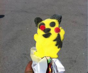 icecream, mystery, and pikachu image
