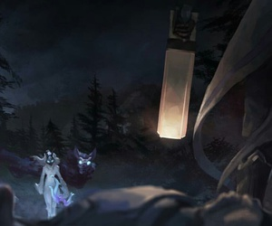 champ, kindred, and lol image