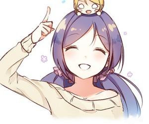 anime girl, kawaii, and school idol project image