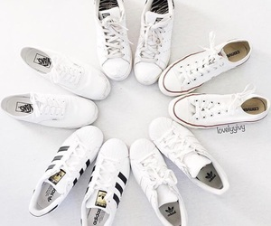 adidas, white, and converse image