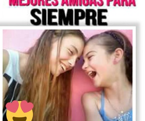 amigas, bff, and frases image
