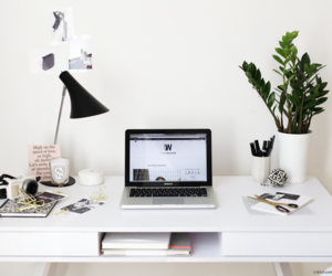 How to give your Work Space a fresh update   More on viennawedekind.com #interior #office #inspiration