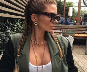 braid, accessories, and beautiful image