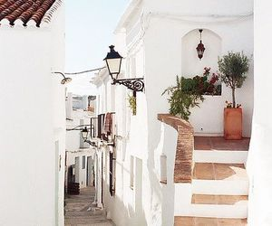 travel, spain, and white image