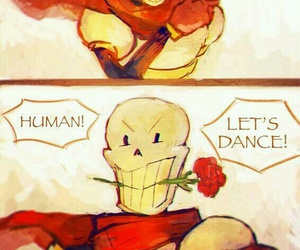 papyrus, undertale, and dancetale image