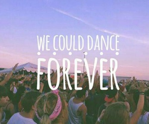 dance, forever, and summer image