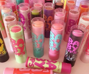 lips, makeup, and Maybelline image