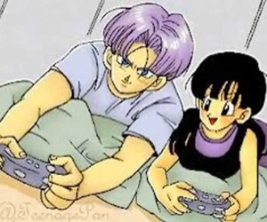 dragon ball, gamer, and trunks brief image
