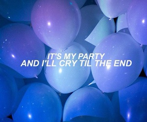 party, grunge, and cry image