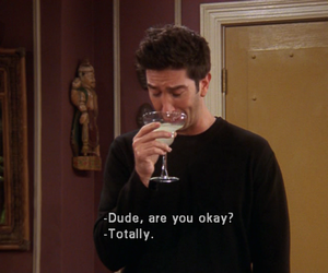 friends, ross, and funny image