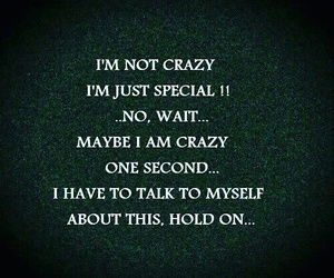 crazy, funny, and quote image