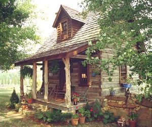 house, nature, and home image