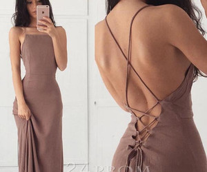 beautiful, evening dress, and Prom image