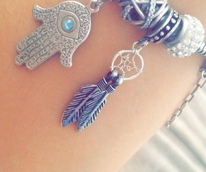 bracelet, charms, and couple image
