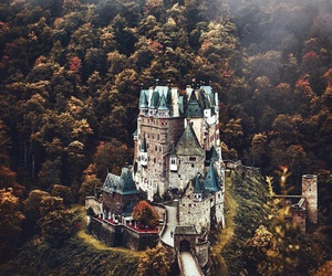 castle, nature, and travel image