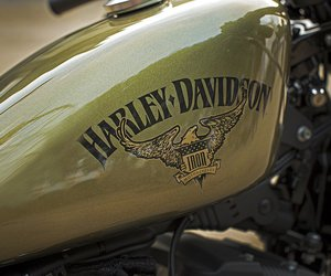 carretera, elegancia, and harley davidson image
