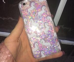 case, iphone, and unicorn image