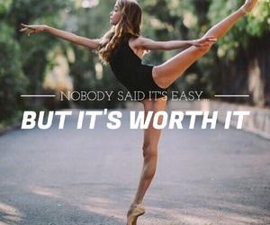 ballerina, easel, and flexibility image
