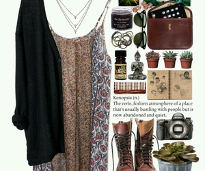 boho, cozy, and fashion image