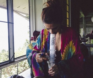 beautiful, boho, and bong image