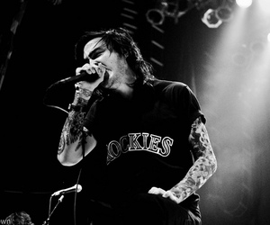 black and white, show, and like moths to flames image