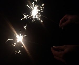 fireworks, new year, and sparkle image