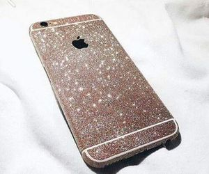 iphone, cute, and gold image