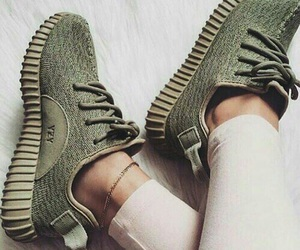 army, green, and yeezy image