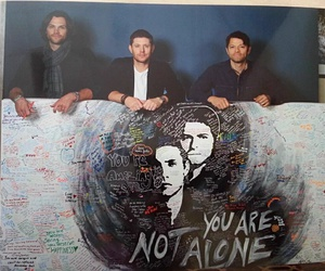 supernatural, you are not alone, and jensenackles image