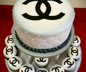 cake, chanel, and sweet image