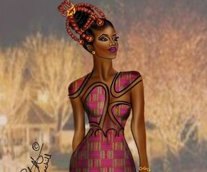 African, art, and beautiful image