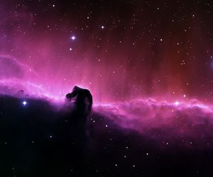 space and pink image