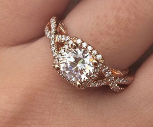 jewelry, weddings, and engagement rings image