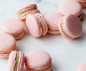 Cookies, food, and macarons image