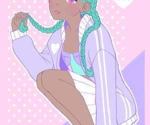 girl, shiroi room, and anime image
