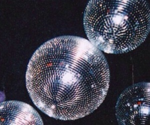 ball, disco, and silver image