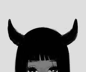 anime, evil, and girl image