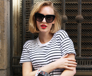 casual, chic, and stripes image