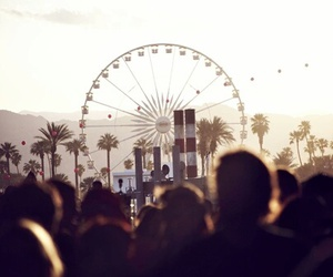 coachella, people, and summer image