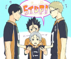 haikyuu, anime, and kawaii image